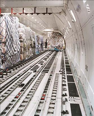 Air Freight Loading Air Cargo