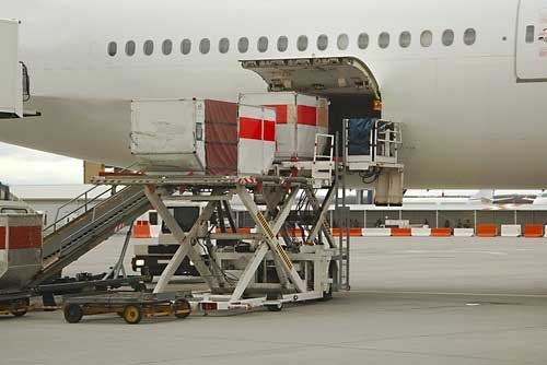 Air Freight Loading Cargo