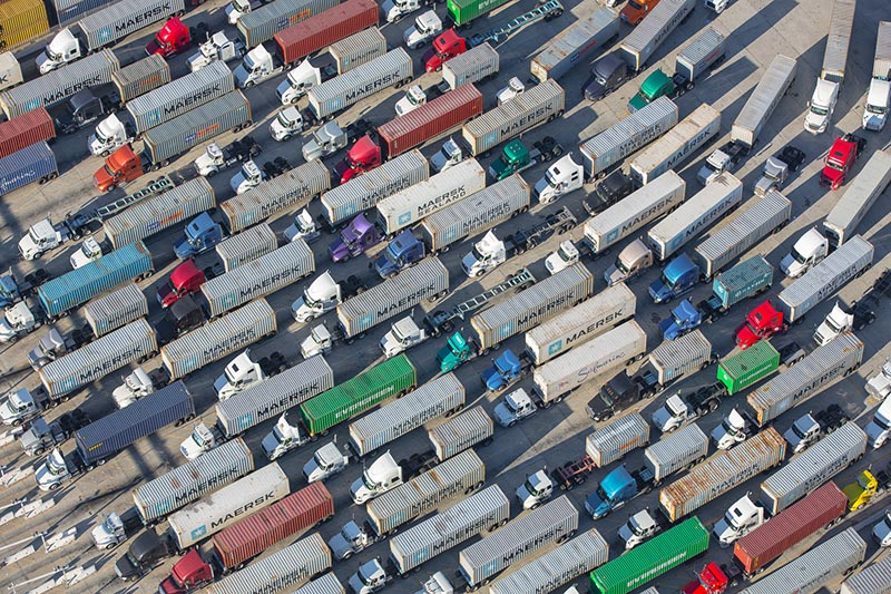 Long Beach Port Air Freight