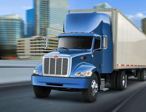 express-trucking-blue-peterbilt