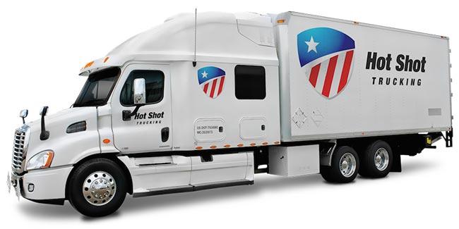 Hot Shot Trucking Carriers